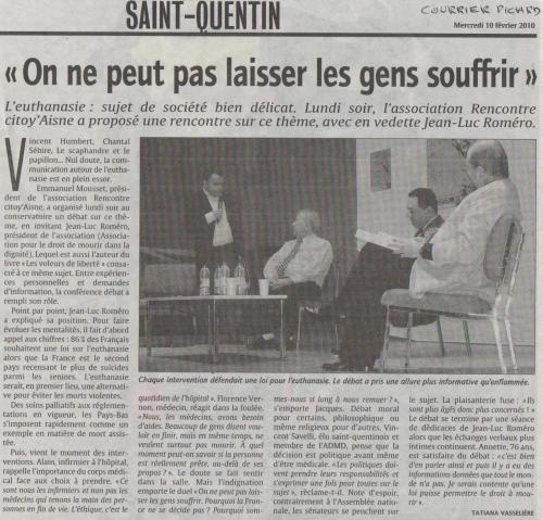 Courrier Picard article Roméro.JPG