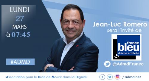 france bleu,jean-luc romero,drôme,admd
