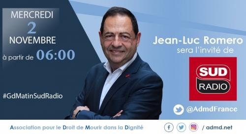sud radio,jean-luc romero,france culture,admd,politique,santé,euthanasie