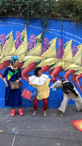 danae brissonet,jean luc romero michel,street art,paris