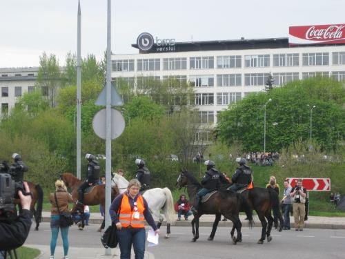 Vilniusmai2010 Police montée (8).JPG