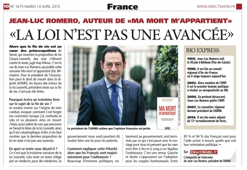 Direct Matin 14 avril 2015 ADMD Romero.jpg