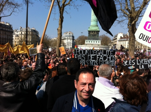 act up,jean-luc romero,homophobie,bastille,paris