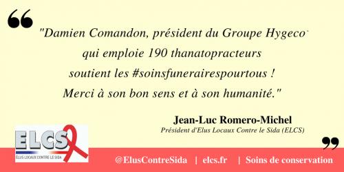 Damien Comandon, président du Groupe Hygeco qui emploie 190 thanatopracteurs soutient Les #soinsfunerairespourtous !Merci à son bon sens et à son humanité..png