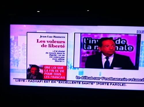i télé,jean-luc romero,admd,euthanasie,politique,france