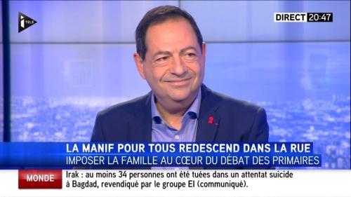 itélé,manif pour tous,jean luc romero