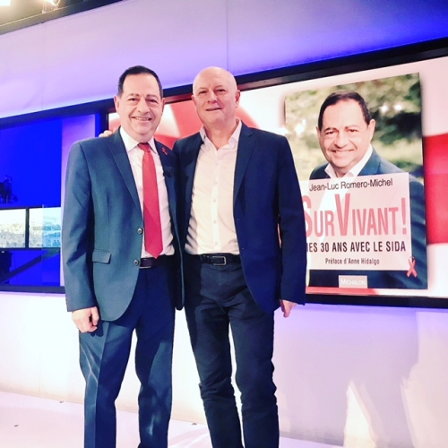 tv5 monde,jean luc romero,sida
