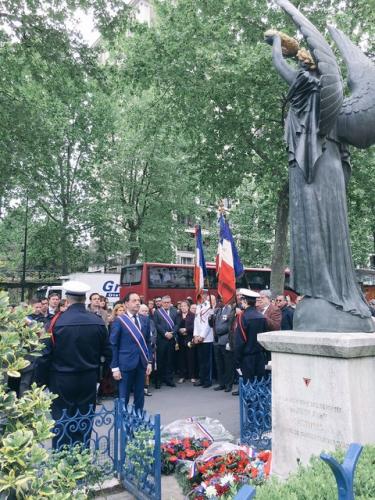 paris,jean-luc romero,8 mai 1945