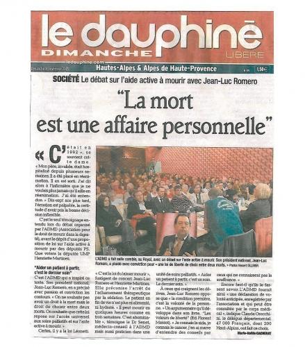 Dauphiné Libéré 08-11-09.jpg