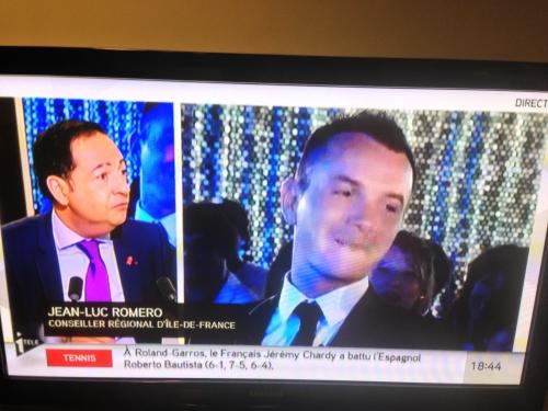 i-télé,jean-luc romero,politique,homosexualité