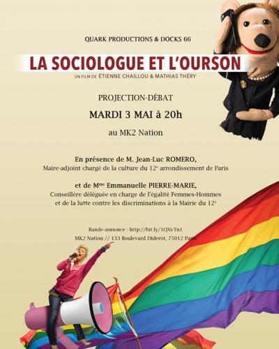 la sociologue et l'ourson,jean-luc romero,homophobie,paris