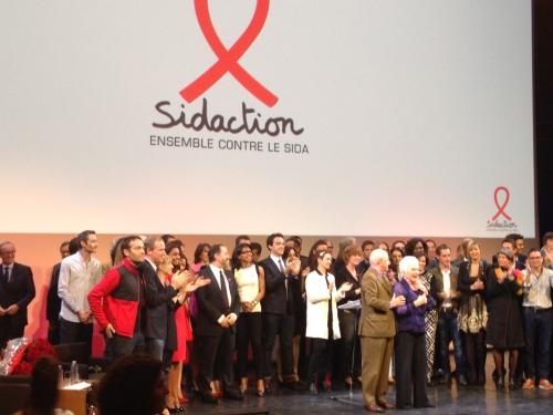 sidaction,jean-luc romero,sida,aids,politique,france,pierre bergé,line renaud