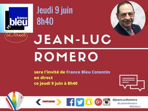 saint-lô,jean-luc romero,france bleu,cotentin,admd,euthanasie,fin de vie