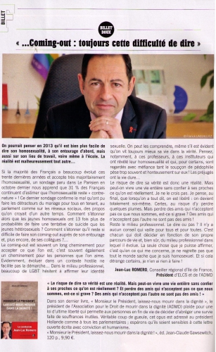 friendly magazine,jean-luc romero,homosexualité
