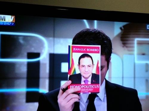 bfm tv,jean-luc romero,homosexualité,politique