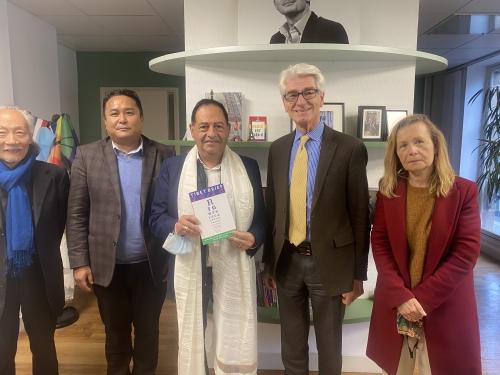 tibet,jean luc romero michel,dalaï lama