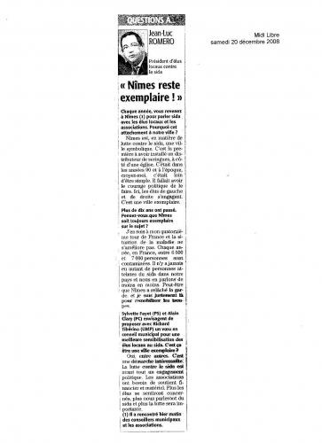 Midi Libre - 20 décembre 2008.JPG