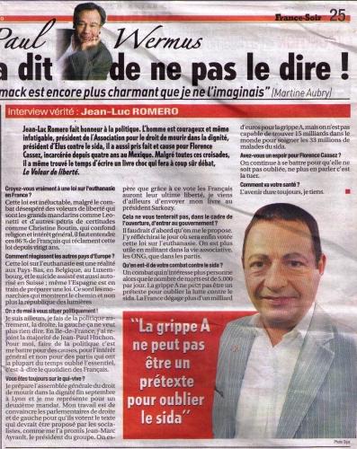 France Soir du 18 septembre 2009.jpg