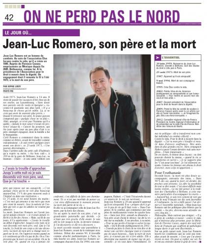 Le Jour ou dans la Voix du Nord 08 avril 2012 JL ROMERO.jpg