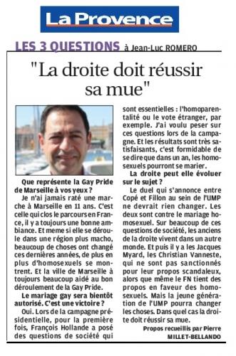 La Provence Marseille JL ROMERO 8 juillet 2012.jpg