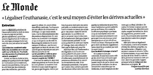 Le Monde du 8 sept 2011 ADMD Romero.JPG