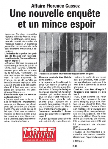 article Nord Littoral - 16 aout 2010.JPG