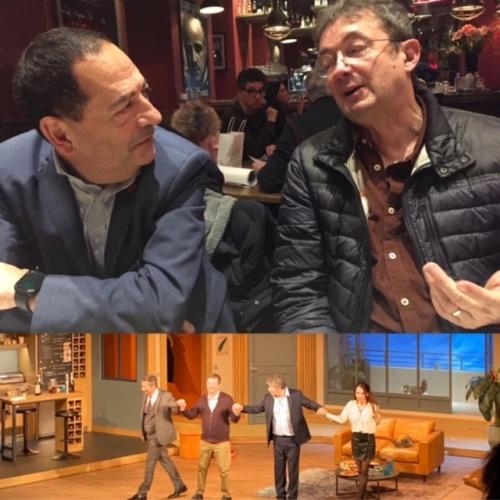 frédéric bouraly,jean luc romero michel,théâtre montparnasse