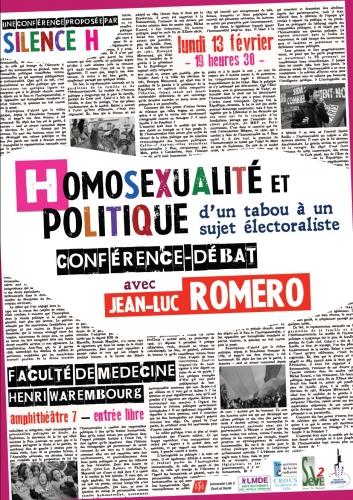 lille,jean-luc romero,silence h,homosexualité,politique,france