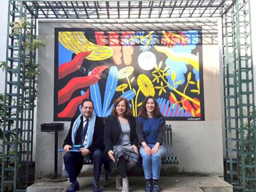 paris,jean luc romero,caroline laguerre,street art