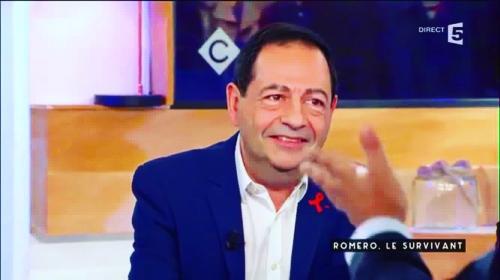 france 5,jean-luc romero,c à vous,sida,survivant,hiv,politique