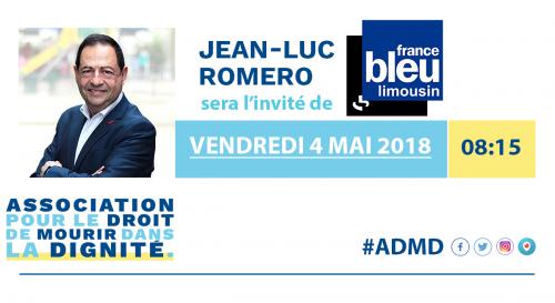 france bleu limousin,jean luc romero,admd