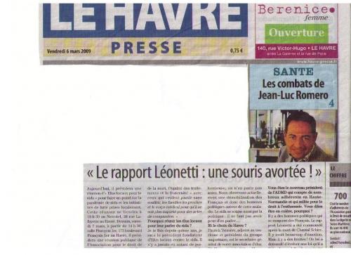 Havre Presse 1 2 - 6 mars 2009.jpg