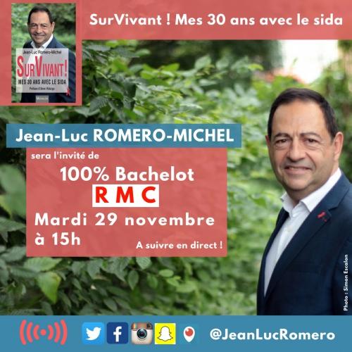 rmc,jean-luc romero,roselyne bachelot,sida,aids,survivant