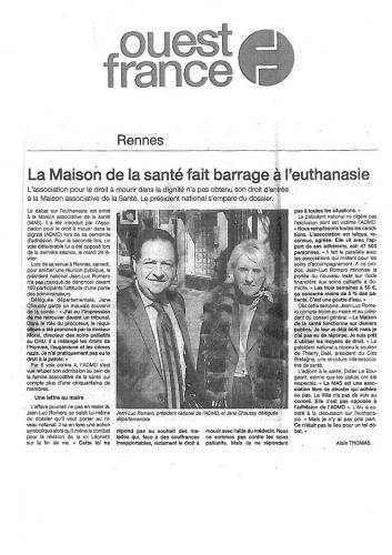 Ouest France - 3 mars 2009.JPG