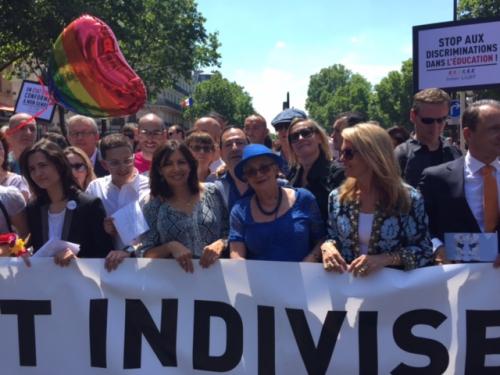 lgbt,jean-luc romero,paris,gay pride,homophobie