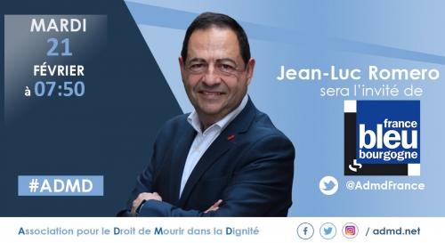 france bleu,jean-luc romero,bourgogne,admd