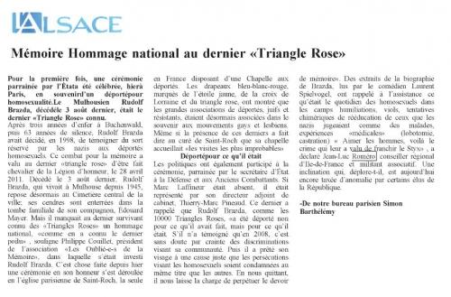 l'Alsace du 29 septembre 2011 ROMERO.JPG