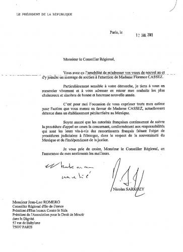 Lettre Nicolas Sarkozy Florence Cassez.jpg