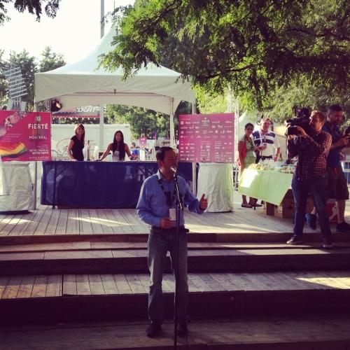 montréal,jean-luc romero,homosexualité,canada,québec,fierté montréal 2012