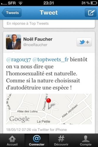 homophobie,jean-luc romero,noël faucher,politique,france,ump