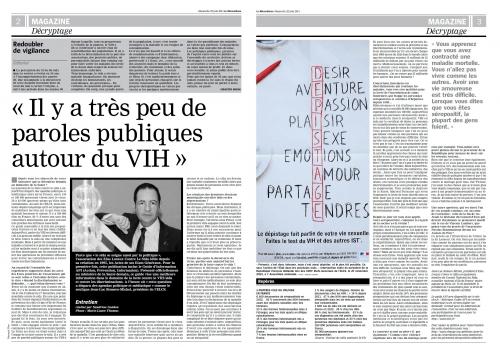 Dimanche 22 juin 2014 La Marseillaise Guide API ROMERO SIDA.jpg