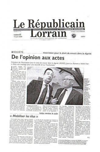 Républicain lorrain 14 oct 2008.JPG