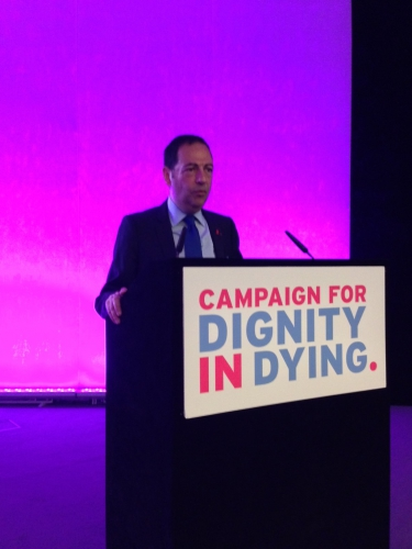 dignity in dying,jean-luc romero,did,admd,londres,euthanasie,politique,france,grande-bretagne