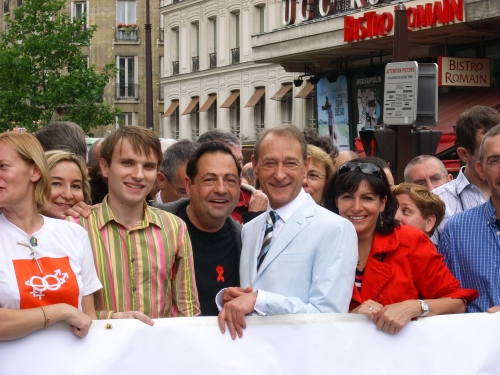 JLR delanoë gay pride.JPG