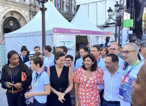 paris 2018,jean luc romero-michel,gay games,anne hidalgo