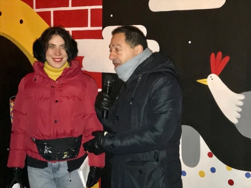 caroline la guerre,jean mlic romero,paris,catherine baratti elbaz,street art